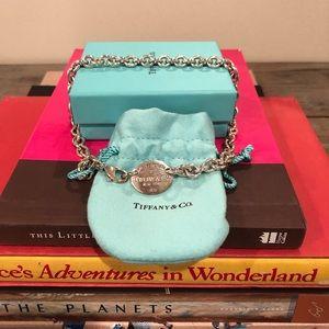 Vintage Return to Tiffany oval tag choker
